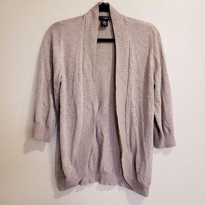 89th & Madison Light Brown Sweater cardigan